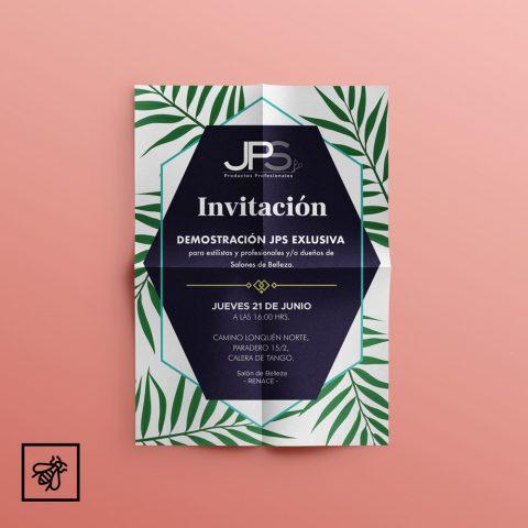 Diseño de Invitación JPS