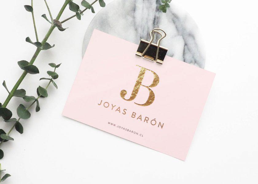 Branding Joyas Baron