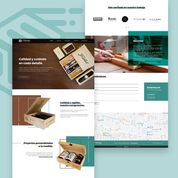 Diseño Web Tosal